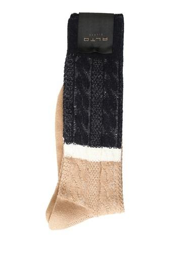 Alto Socks Alto Socks   Örgü Dokulu Erkek Çorap 101560333 Lacivert